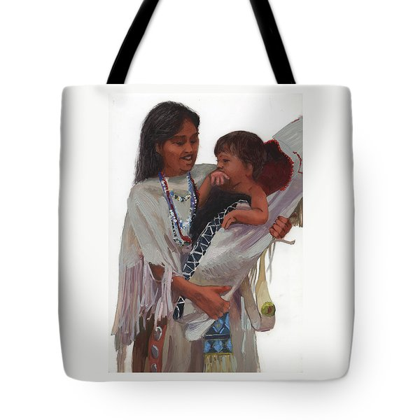 Gathered Tenderness Tote Bag