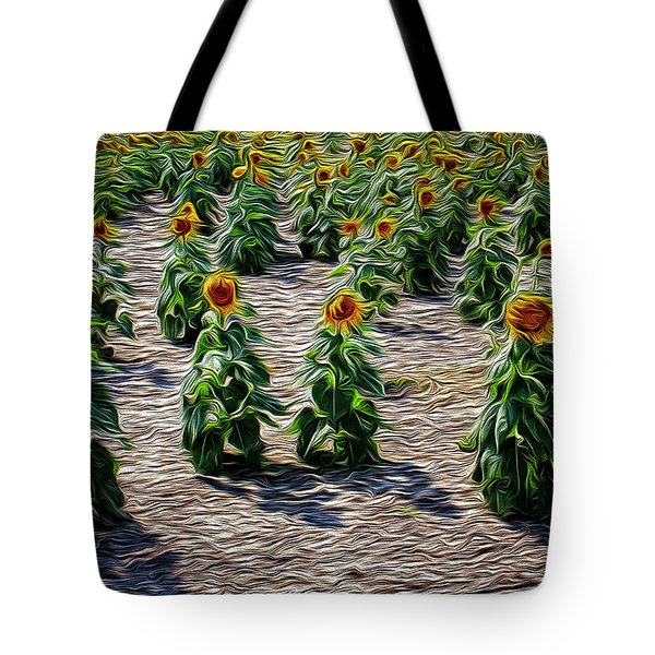 Gathering In Place Tote Bag