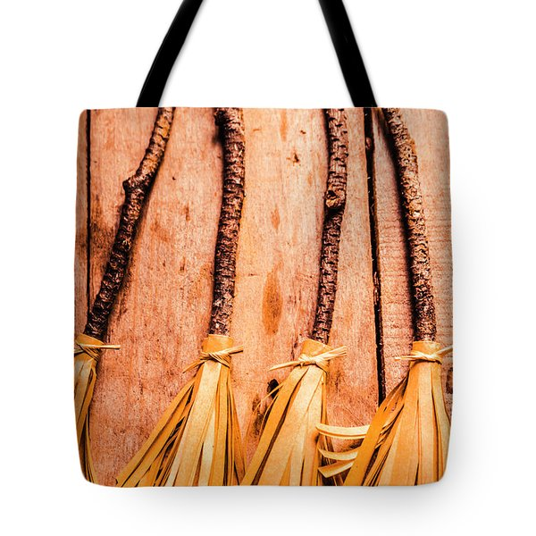 Gathering Of 4 Evil Witches Tote Bag