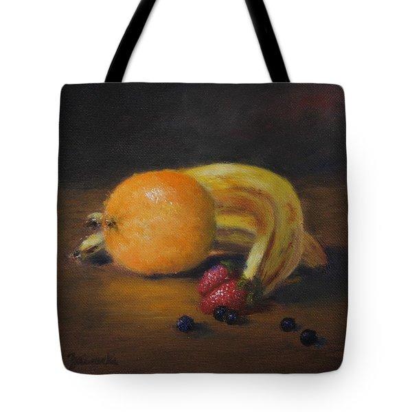 Gathering Of Fruit Tote Bag
