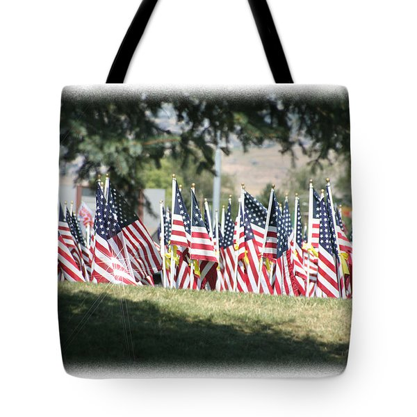 Gathering Of The Guard - 2009 Tote Bag by Gary Baird