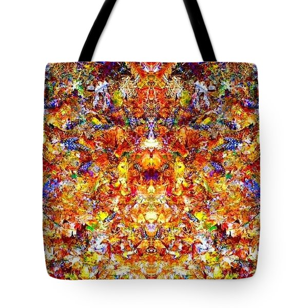 Gathering Of The Leaf Gods Tote Bag