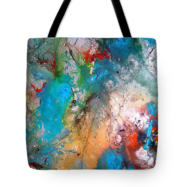 Gathering Tote Bag by Pearlie Taylor