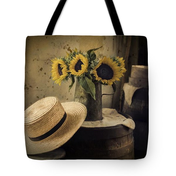 Gathering Sunshine Tote Bag by Robin-Lee Vieira