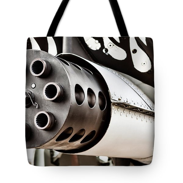 Gatling Tote Bag by Lawrence Burry