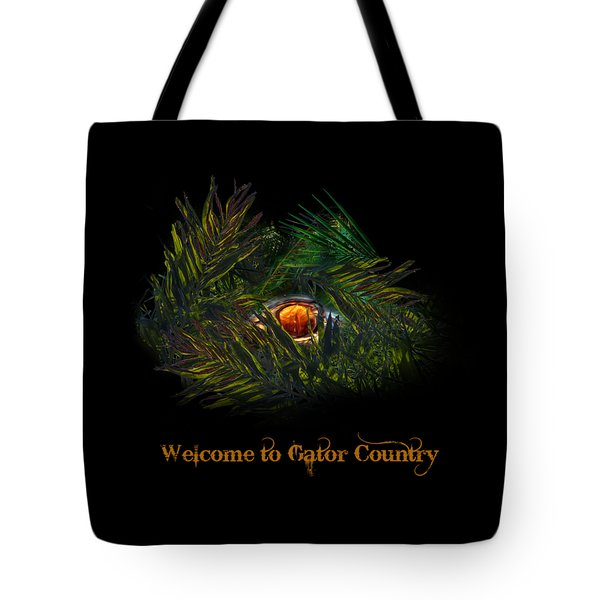 Gator Country  Tote Bag by Mark Andrew Thomas