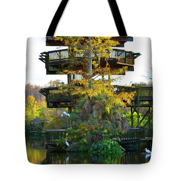 Gator Tower Tote Bag