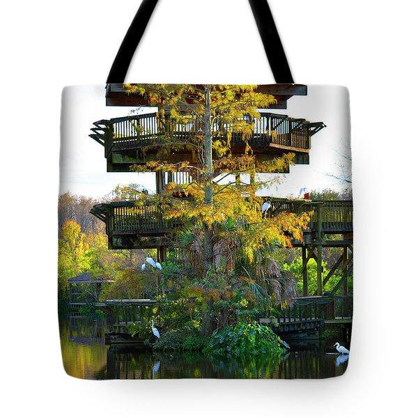 Gator Tower Tote Bag