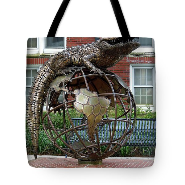 Gator Ubiquity Tote Bag by D Hackett