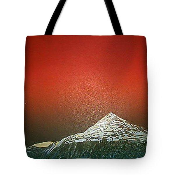 Gaustatoppen 2 Tote Bag by Jarle Rosseland