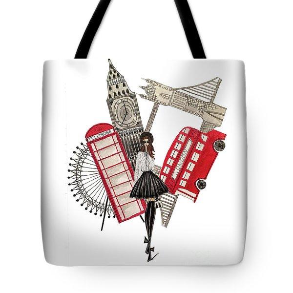 Gavi Leveaux In London Tote Bag