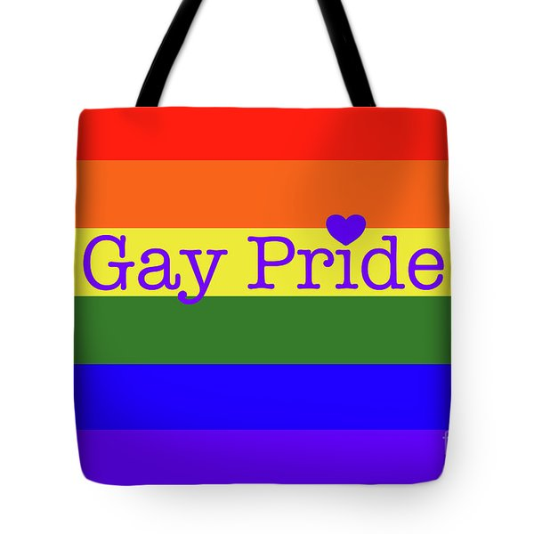 Gay Pride Love Tote Bag
