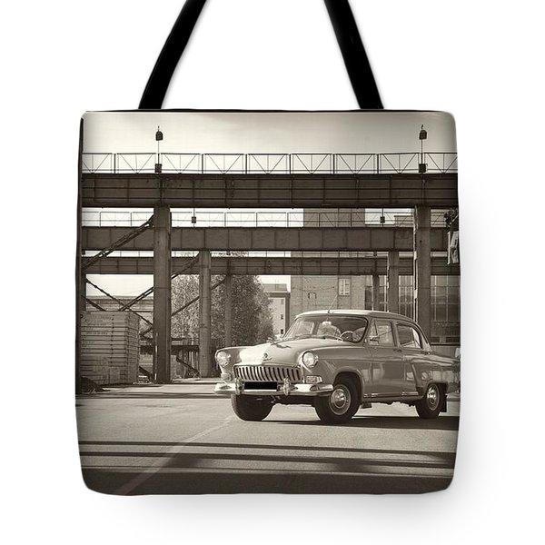Gaz Volga Tote Bag