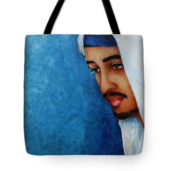 Gaze Of Peace Tote Bag by Jun Jamosmos