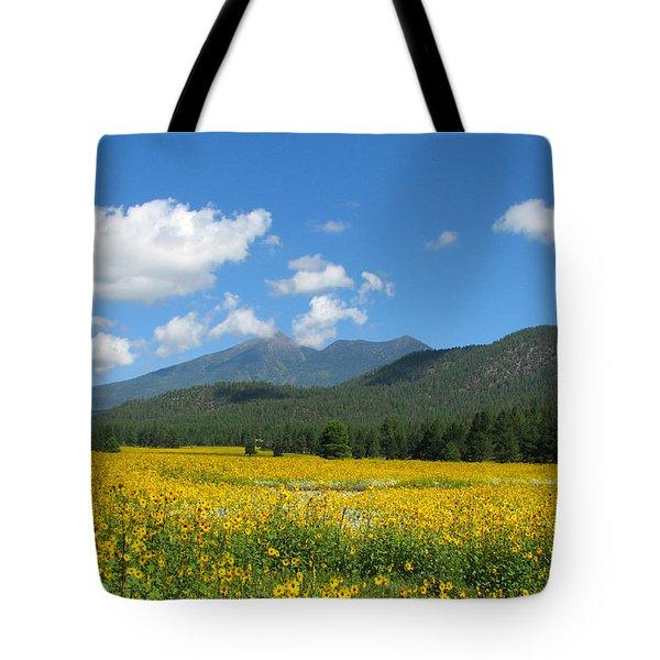 Gazing Serene Tote Bag