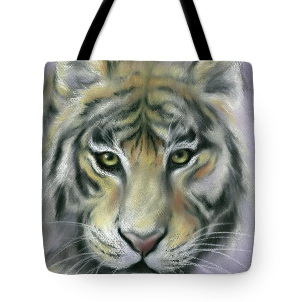 Gazing Tiger Tote Bag