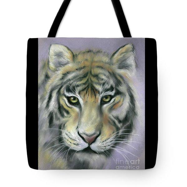 Gazing Tiger Tote Bag