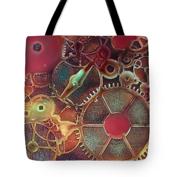 Gear Works Tote Bag by Suzanne Canner