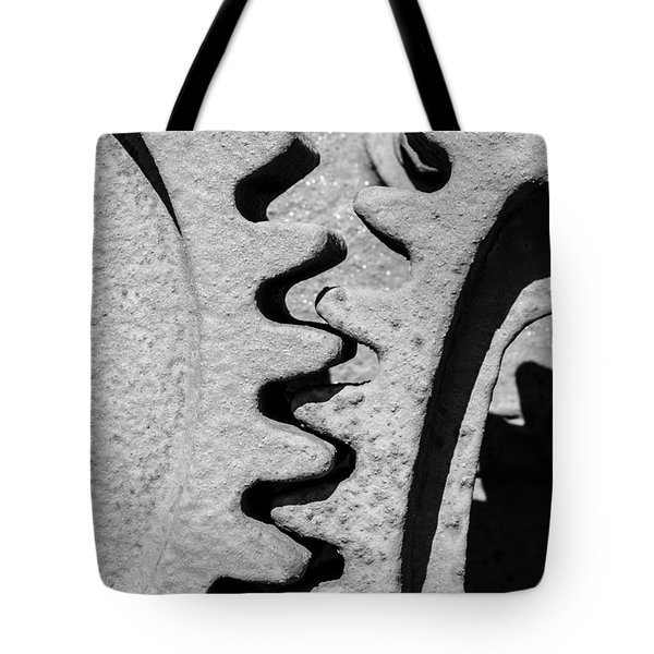 Gear - Zoom, Close Up Tote Bag