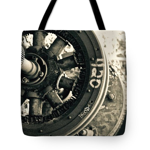 Gearing Up Tote Bag