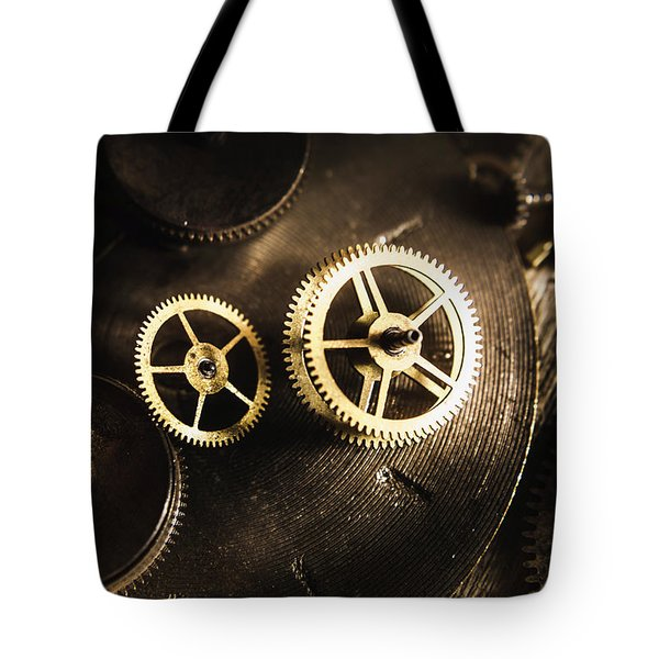 Gears Of Automation Tote Bag