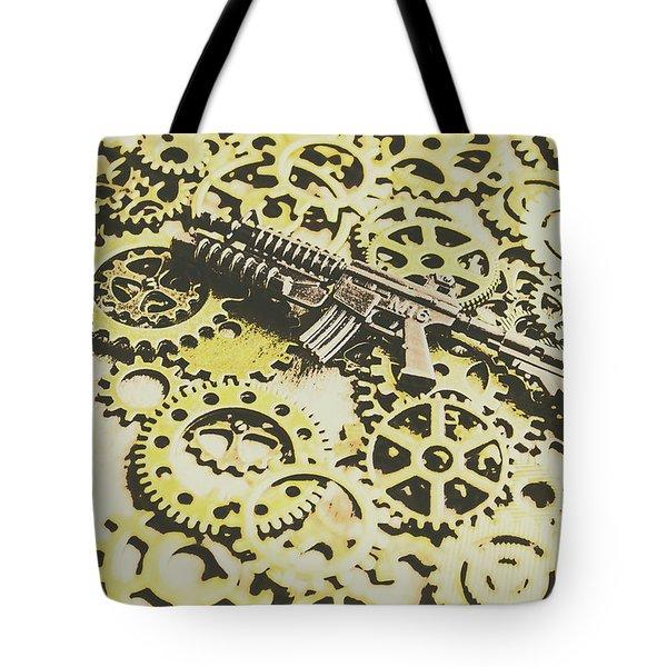 Gears Of War Tote Bag