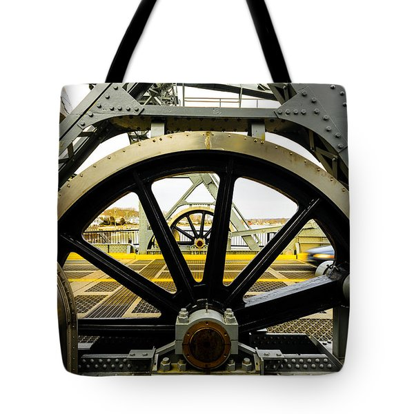 Gears Work Tote Bag