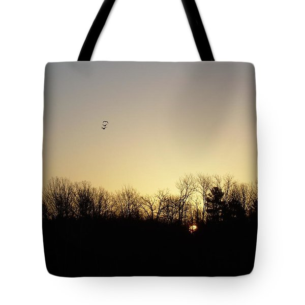 Tote Bag featuring the photograph Geese At Sunrise by Kent Lorentzen