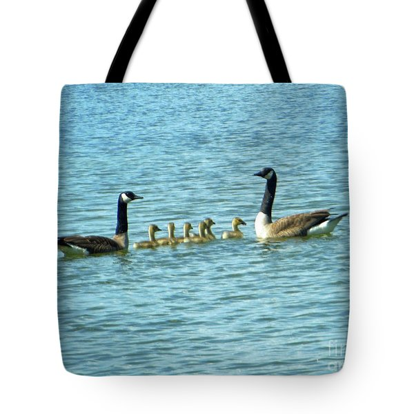 Geese Proud Parents Tote Bag