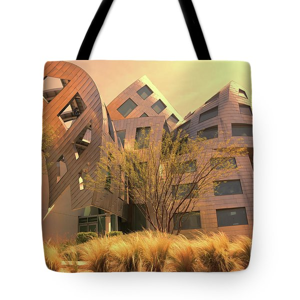 Gehry Brain Clinic Lv  Tote Bag