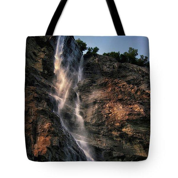 Cascading Tote Bag