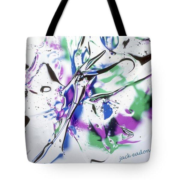 Gel Art #12 Tote Bag by Jack Eadon