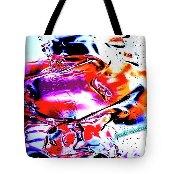 Gel Art #14 Tote Bag by Jack Eadon
