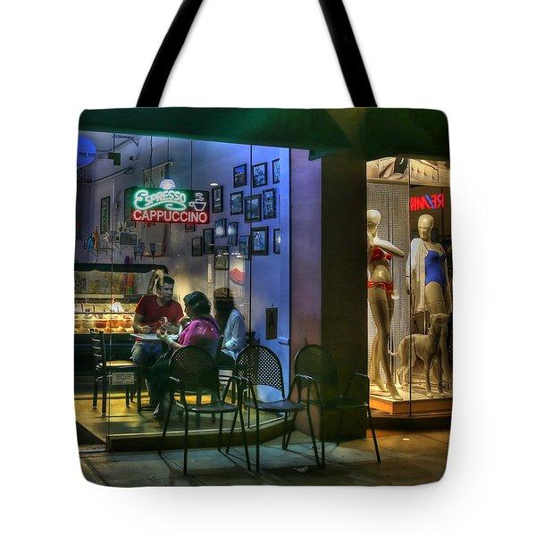 Gelato In La Jolla Tote Bag