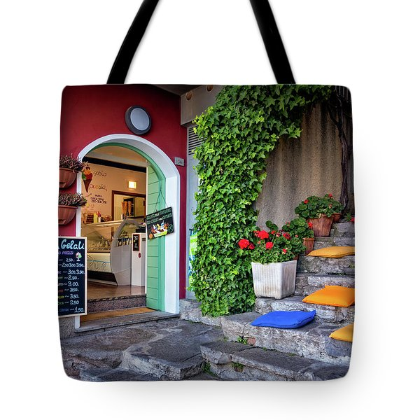 Gelato Shop Tote Bag