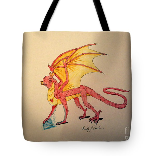 Gem Hunter Dragon Tote Bag