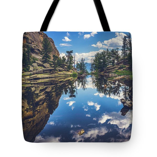 Gem Lake Reflections Tote Bag