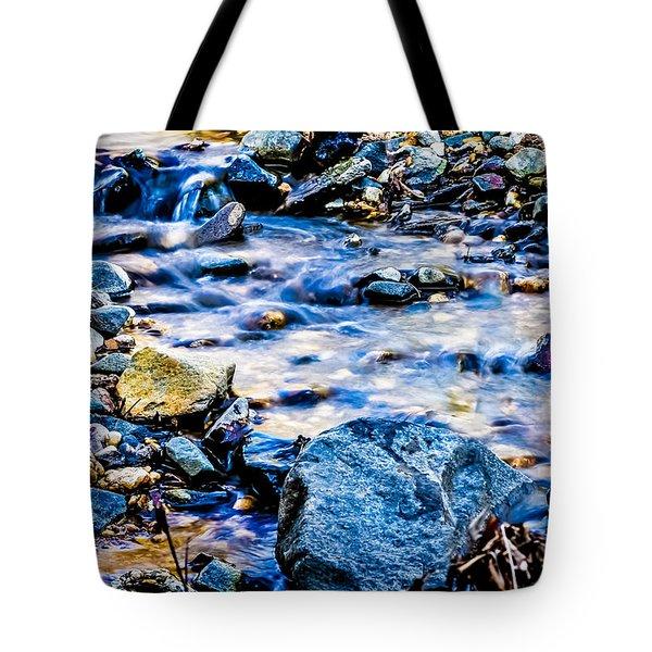 Gem Stones Tote Bag