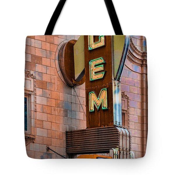 Gem Theater In Kansas City Tote Bag