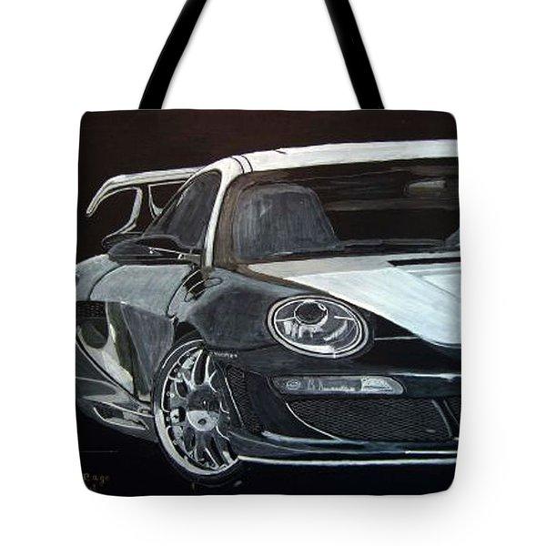 Gemballa Porsche Right Tote Bag