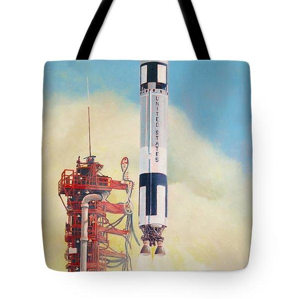 Gemini-titan Launch Tote Bag