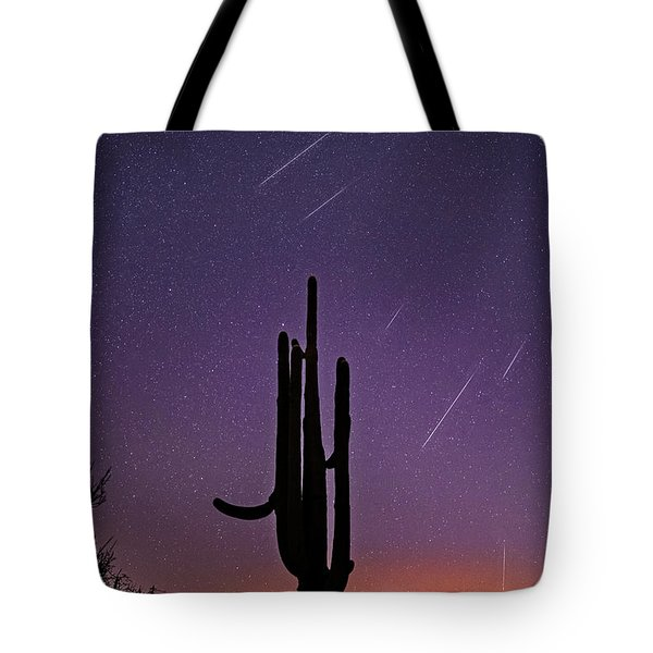 Geminid Meteor Shower #1, 2017 Tote Bag