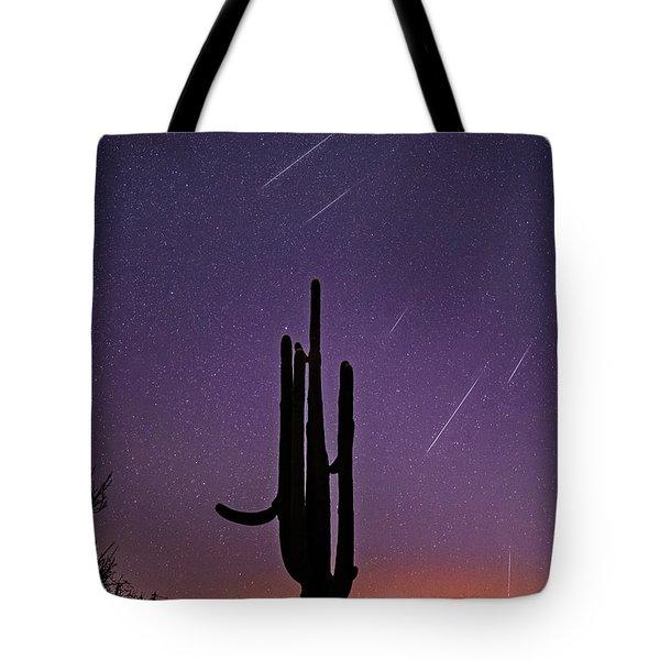 Geminid Meteor Shower #1, 2017 Tote Bag