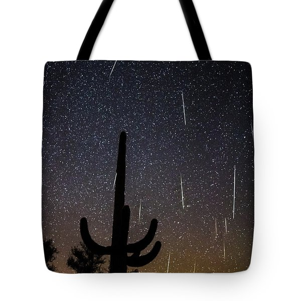 Geminid Meteor Shower #2, 2017 Tote Bag
