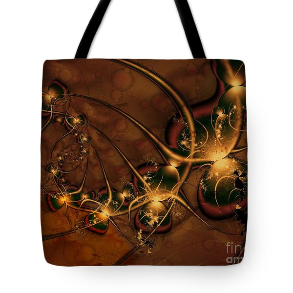 Tote Bag featuring the digital art Gems Unearthed by Michelle H