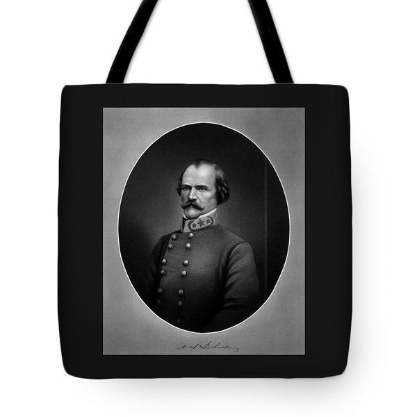 General Albert Sidney Johnston Tote Bag