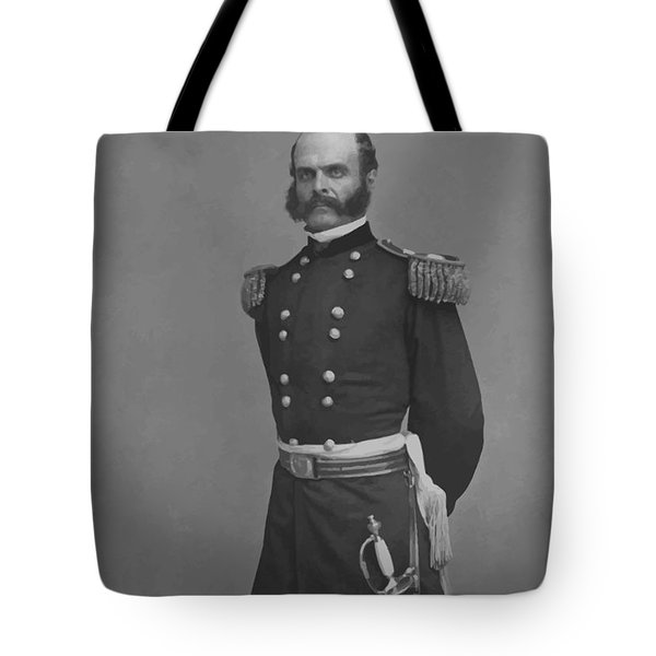 General Ambrose Everett Burnside Tote Bag by War Is Hell Store