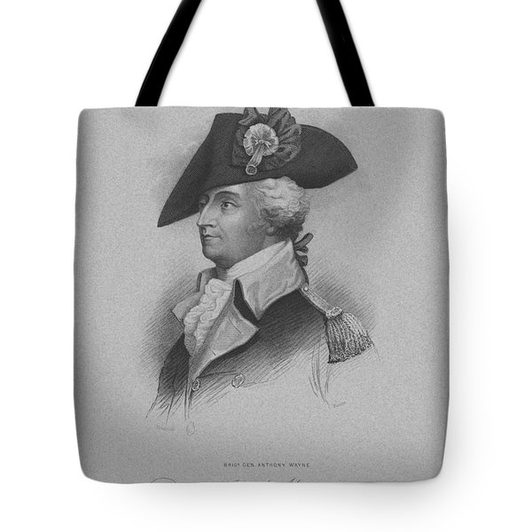 General Anthony Wayne Tote Bag