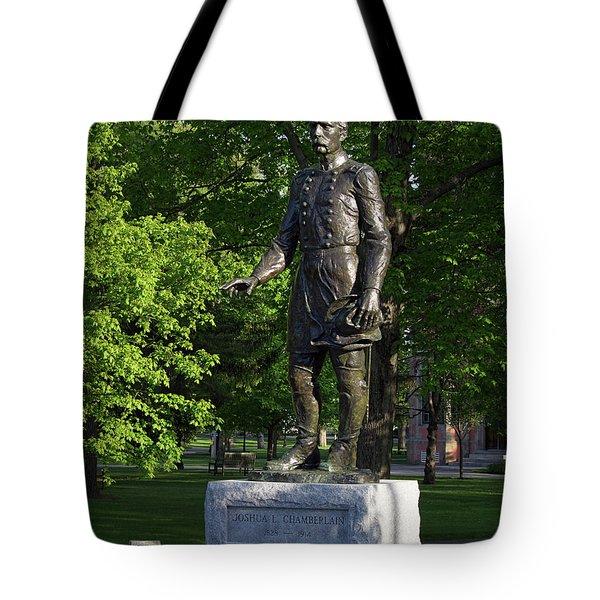 General Chamberlain, Bowdoin College  0035 Tote Bag