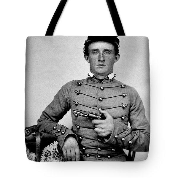 General Custer At West Point Ca 1859 Tote Bag